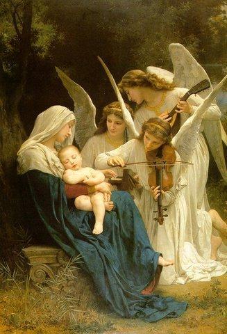 1 la vierge aux anges