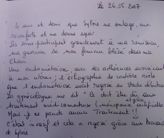 Témoignage Nathalie  Détail partie1