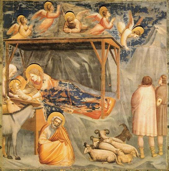 Giotto Nativité de Jésus