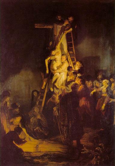 La descente de croix rembrandt