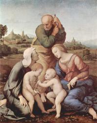 Sainte Famille avec Sainte Elisabeth JESUS et Jean-Baptiste