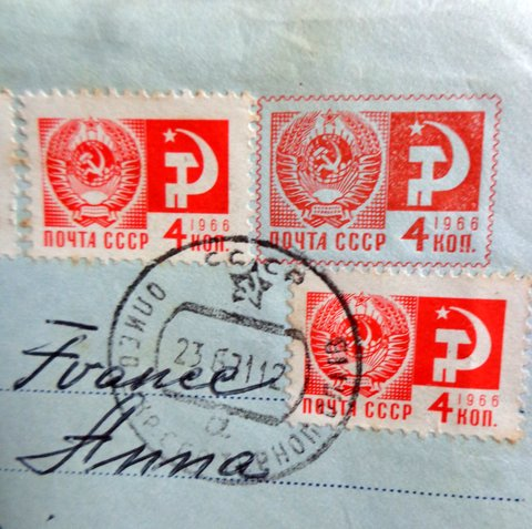 Timbres courrier maman 67