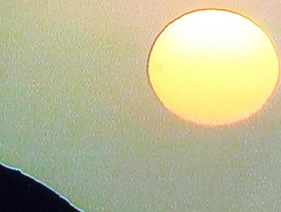 ANDES Coucher de soleil