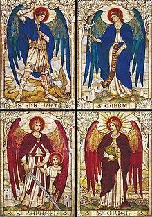 220px four archangels st john s church warminster wiltshire