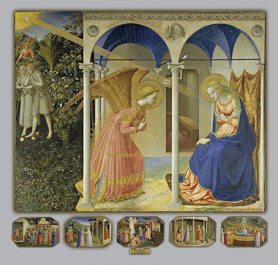 Fra angelico la visitation