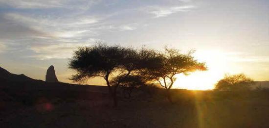 Hoggar3 coucher de soleil