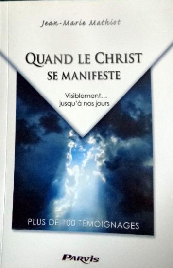 Livre quand le christ se manifeste 1