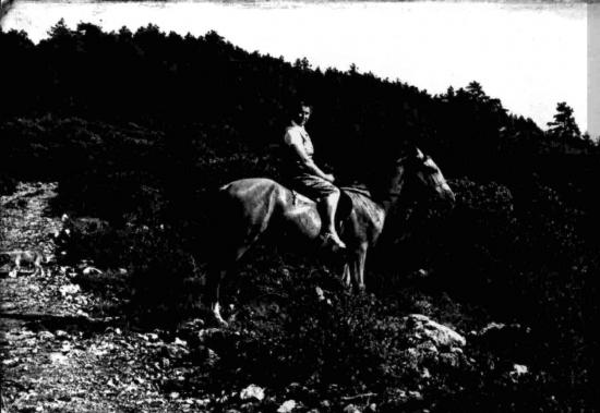 Maman a cheval