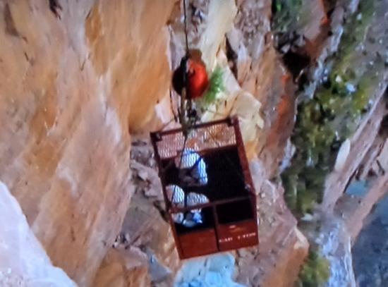 Skywalk gd canyon inspection parois