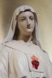 Vierge scapulaire marie mere de misericorde